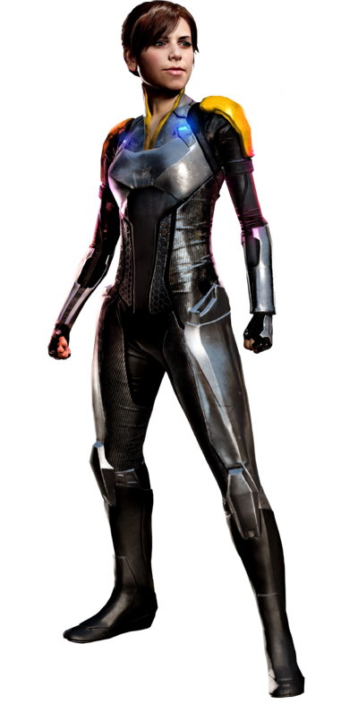 Abigail walker infamous first light by ja renders-d8ix0rq