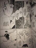 Sailor Moon Black Moon Black Lady let's the planet die