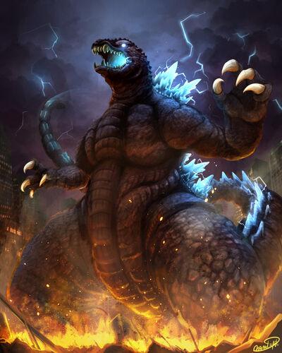 Godzilla 2001 version by narutakiyu-d8u12pr