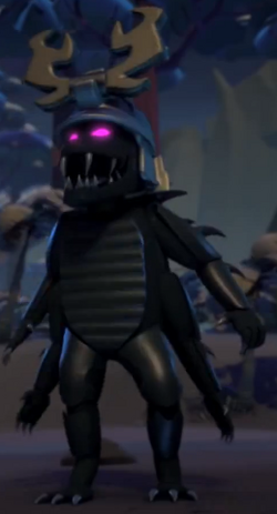 Overlord in Lord Garmadon's Body