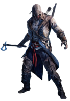 Assassins creed iii connor render by crussong d4rkotj