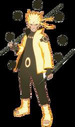 Naruto Six Paths Sage Mode 2