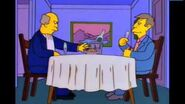 The Simpsons Skinner and The Superintendent Aurora Borealis