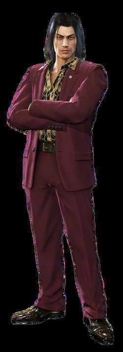 Yakuza 0 nishiki Render