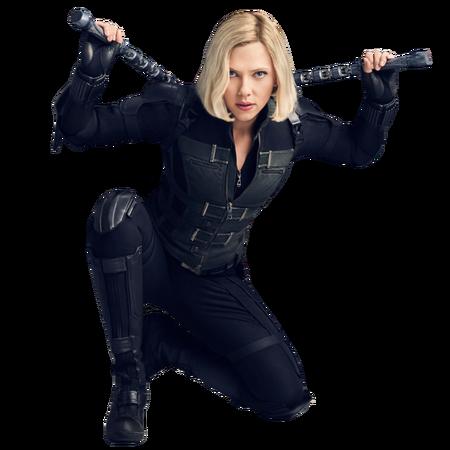 Avengers infinity war black widow png by mintmovi3-dbzx3un