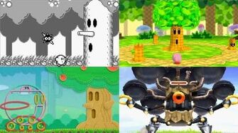 Evolution of Whispy Woods Battles in Kirby games (1992 - 2016)-0