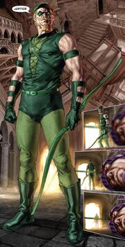 Green Arrow Post Crisis full body