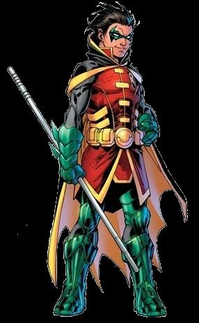 Damian Wayne render