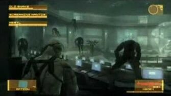 Metal Gear Solid 4 (PS3) - Screaming Mantis Boss Battle