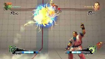 Blanka - Lightning Cannonball
