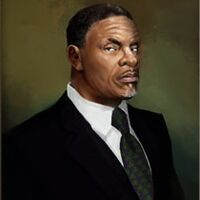Keith David White Crib portrait