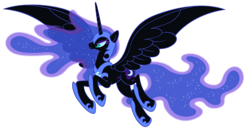 Nightmare moon by stabzor-d52pilp