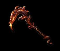 True Infernal Flamescythe