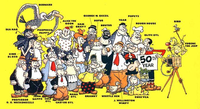 Popeye Cast