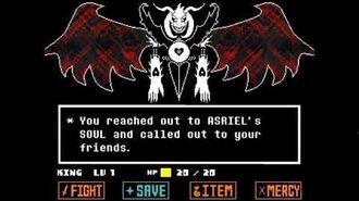Undertale - Asriel Dreemur, God of Hyperdeath fight