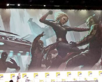 Captain marvel to feature skrulls