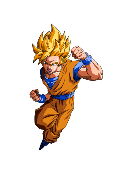 Goku ssj 2 render by projectsalex-d5jqob5