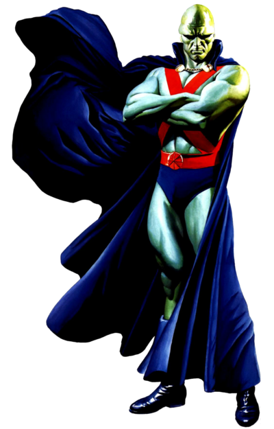 Martian Manhunter Post-Crisis DC Comics
