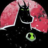 Alien X (Ben 10)-Original Sticker