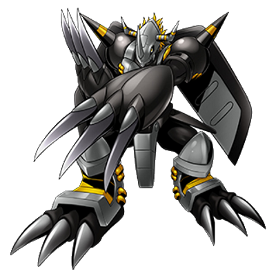Black war greymon crusader