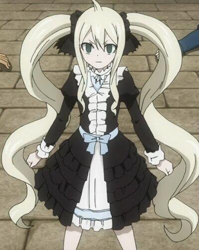Fairy Tail Zero Mavis Vermillion Black Mage 1