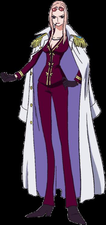 One Piece Hina Nackt