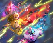 Kirby Star Allies-Artwork