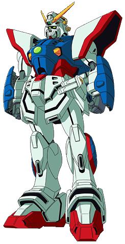 GF13-017NJ Shining Gundam Normal Front render