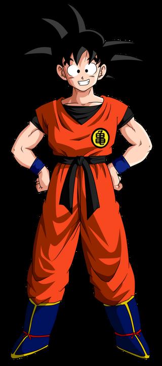 Goku db end