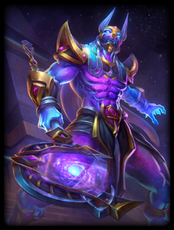 T Anubis CosmicPower Card