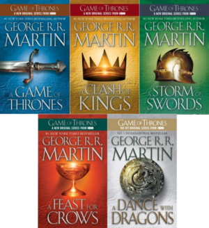 Image result for a song of ice and fire vs game of thrones