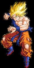 Goku super guerrero namek by bardocksonic-d785joi
