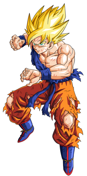 Goku super guerrero namek by bardocksonic-d785joi
