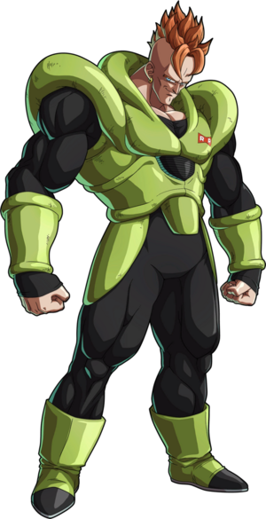 Android 16 by purplehato