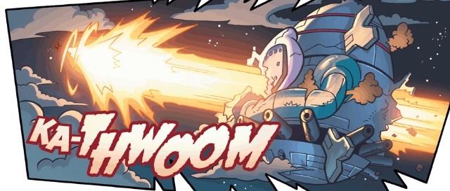 Blaze Attacks Egg O War
