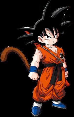 Kid goku render dokkan battle by maxiuchiha22 dccjed9