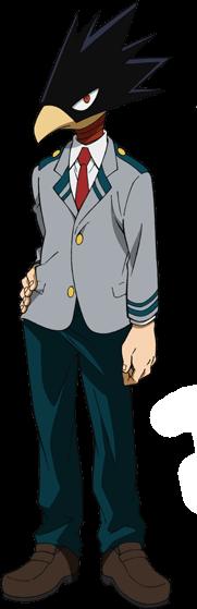 Tokoyami School Outfit