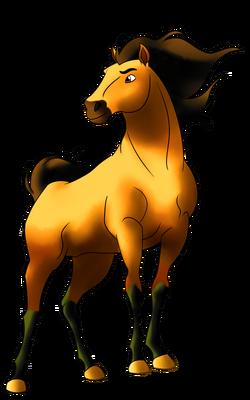 Spirit stallion of the cimarron by gabrielfenix-d9dzxgn