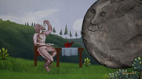 Atlas and the Boulder