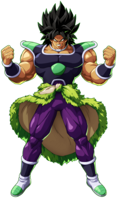 Broly (DBS) FighterZ Render