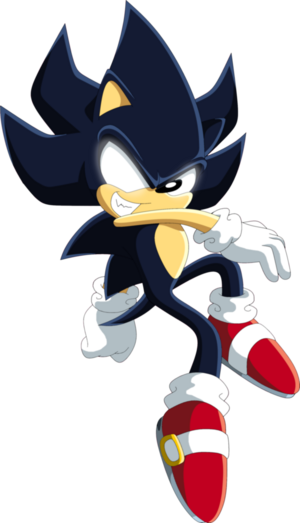 Dark sonic by siient angei-d9legnb