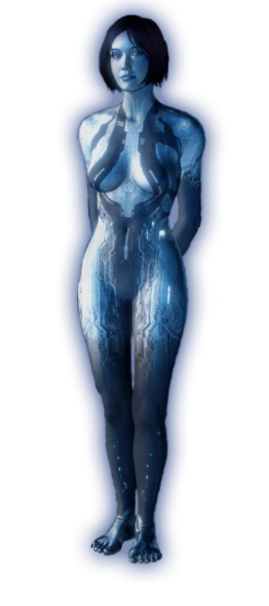 Halo 4 Cortana (Render)