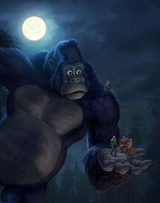 Kong - King of the Apes art