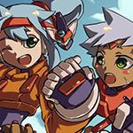 Grey and Ashe (Mega Man)