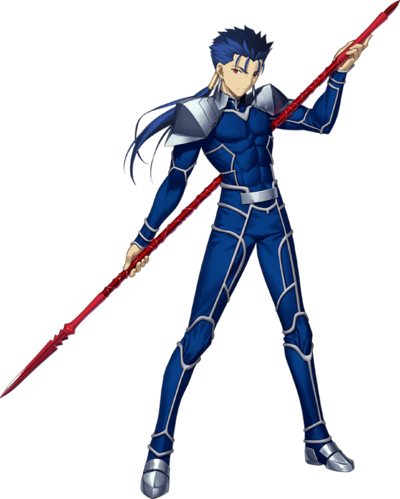 Fate Grand Order Lancer Render