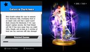 Super Smash Bros. for Wii U-Galaxia Darkness' trophy