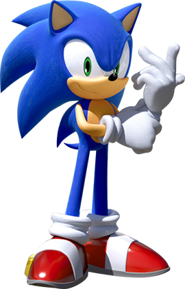 Sonic Games Modern Sonic 2 (Render)