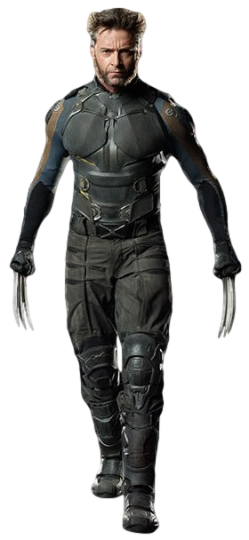 X men s wolverine 2 transparent background by camo flauge-d9lclf9