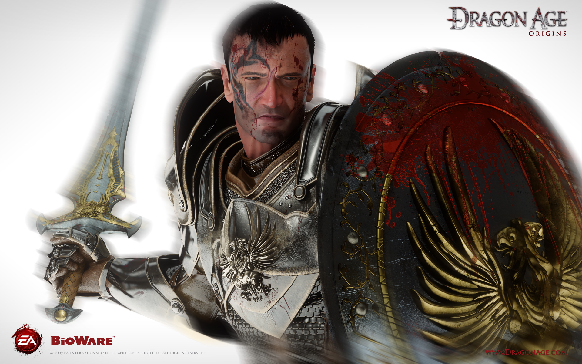 Dragon Age Origins Wallpapers: The Warden (Dragon Age)