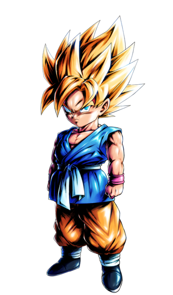Kid Goku SSJ by maxiuchiha22